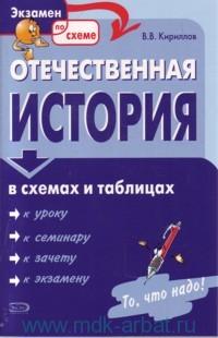 Курс отечественной истории в схемах и таблицах представляет собой учебное пособие, в котором в сжатой...
