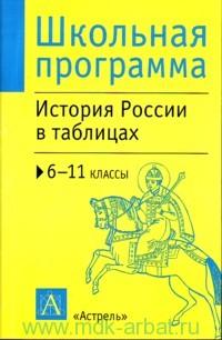 История России в таблицах и схемах.