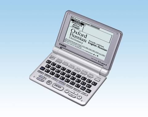 EW-R100 - англо-русский, русско-английский электронный словарь CASIO